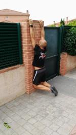 Colgando de la pared